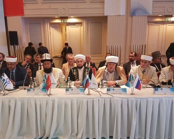 Камиль хазрат Самигуллин в составе делегации из России