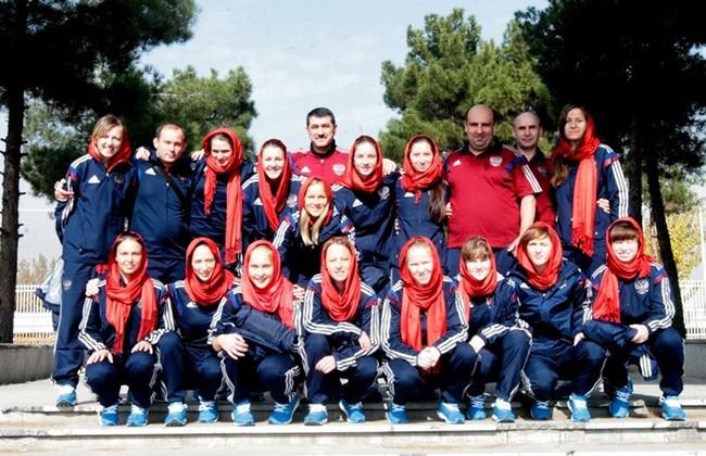 Женская сборная России по мини-футболу в 2014г.