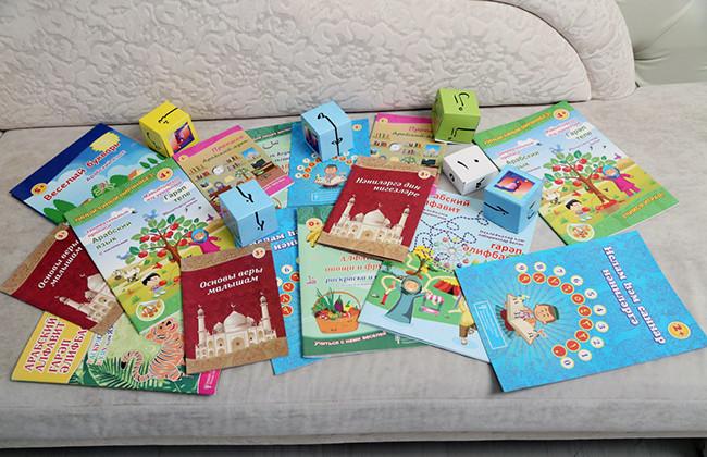 Мусульманская обучающая продукция для детей