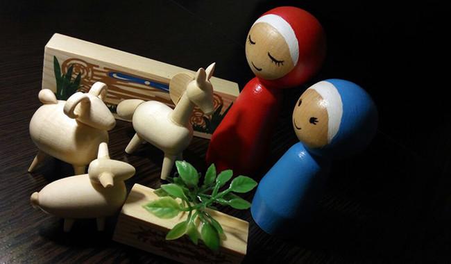 Деревянные куклы для мусульман