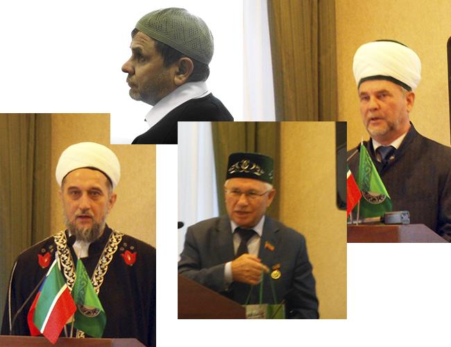 Талип Яруллин, Разиль Валеев, Тагир Саматов, Гумар Саматов