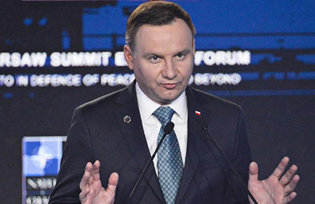 Украина направит официальную ноту Польше из-за сожженного флага