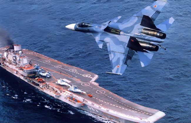 «Адмирала Кузнецова» впервый раз задействовали против террористов вСирии