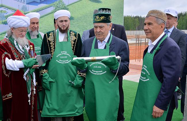 Старт строительства Булгарской исламской академии
