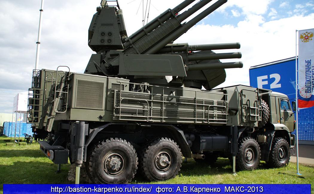 Самоходные зенитные ракетно-пушечные комплексы «Панцирь-С1»