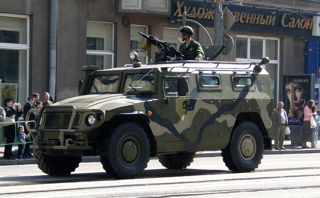 ГАЗ-2330 «Тигр»