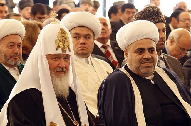 Патриарх Кирил и Пашазаде Аллахшукюр