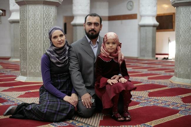 Анар Рамазанов с семьей