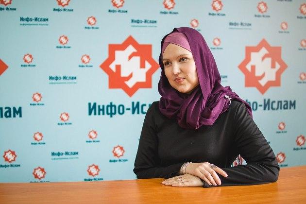 Ефимова Людмила - христианка, сменившая веру, работая при мечети