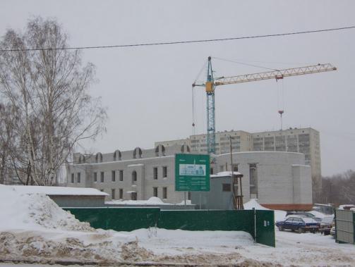 Мэр Казани проинспектировал строительство реабилитационного центра для незрячих людей