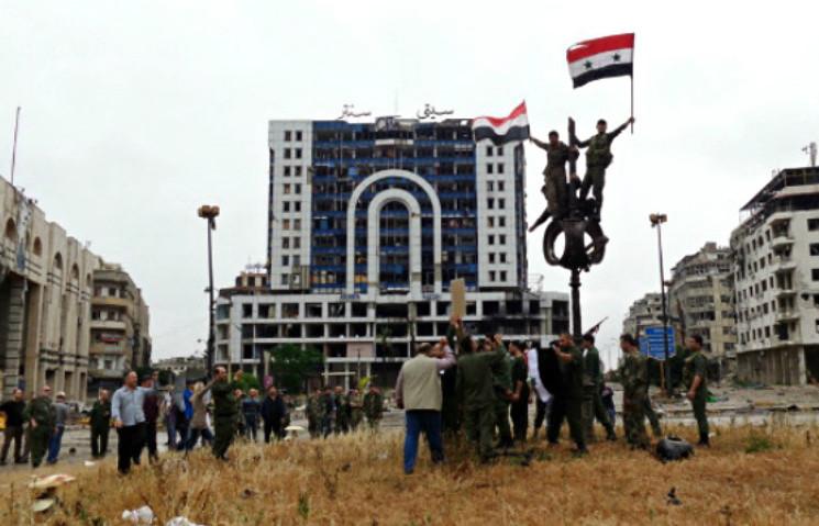 Борьба за Сирию