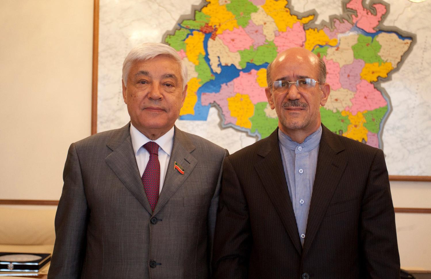Cостоялась встреча Фарида Мухаметшина с Генеральным консулом Исламской Республики Иран