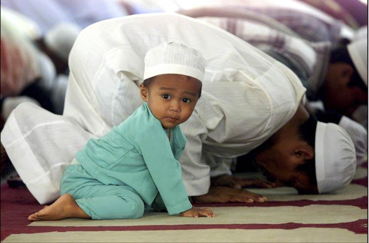 Молитва при принятием ислама